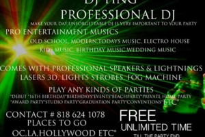 Photo #1: FILIPINO CLUB DJ FREE NO TIME LIMIT AFFORDABLE !!! ANY KINDS OF EVENT