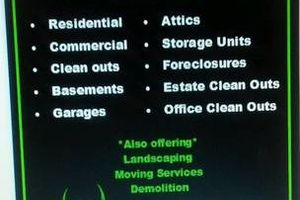 Photo #1: BEST JUNK REMOVAL+cheap rates+PRO RESULTS