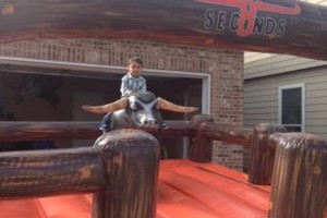 Photo #1: Billy the Bully mechanical bull rental