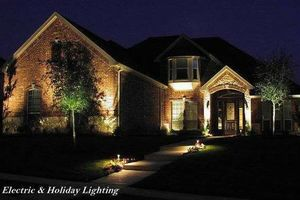 Photo #1: EXPERIENCED Electrician + Specialize in Landscape Lighting !!