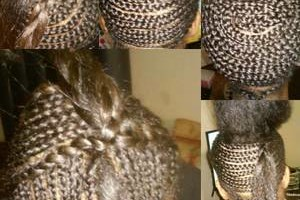 Photo #1: Braids weaves and everything in between