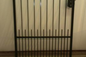 Photo #1: Fences, burglar bars, all metal work welding, iron works