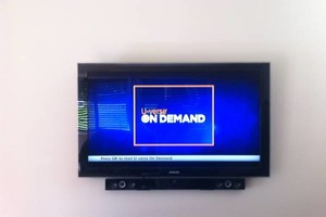 Photo #1: SAME DAY TV MOUNTING, DRAPE HANG, HANDYMAN DRYWALL...