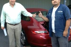 Photo #1: A Full body paint job and bodywork $600 Marino's auto