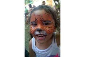 Photo #1: Angies Paintbrush Face Painting!
