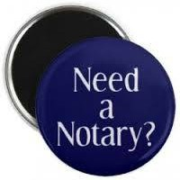 Photo #1: Mobile Notary Public and Finger Printer