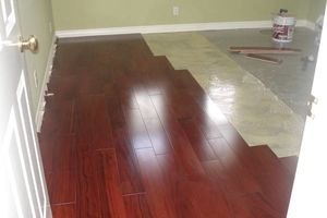 Photo #1: HARDWOOD FLOOR INSTALLATION & REFINISHING