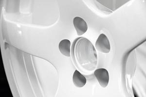 Photo #1: Wheel Rim Powder Coating Special - $75/Rim