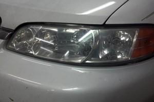 Photo #1: Headlamp Lens refinishing and polishing