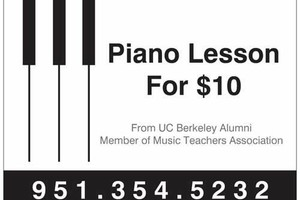 Photo #1: In Home Piano Lessons from a UC Berkeley Alumni
