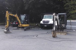 Photo #1: Excavation, concrete demolition, underground utility