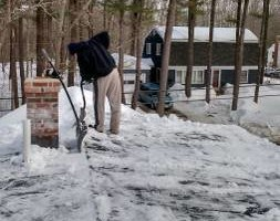 Photo #1: S-N-S Handyman Service. Roof shoveling