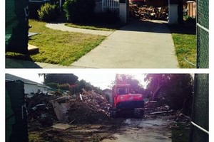 Photo #1: TRACTOR WORK - TRENCHING, LEVELING, DEMOLITION