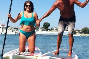 Photo #1: Paddleboard Lessons. Workout Fun