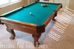 Photo #1: AA BILLIARDS. Professional Pool Table Movers - Skill and a Lot of Muscle