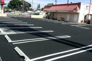 Photo #1: Asphalt paving (PARKING LOTS , DRIVE WAYS)