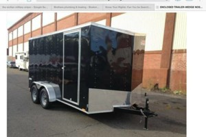 Photo #1: Bike tow ENCLOSED trailer SAFE TOW