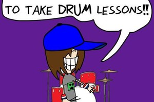 Photo #1: DRUM LESSONS! COOL TEACHER!