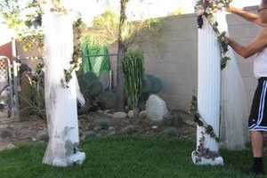 Photo #1: Wedding Arch (roman style)