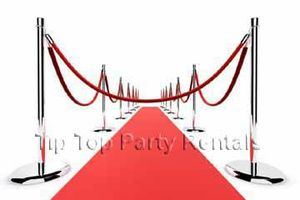 Photo #1: RED CARPET RENTALS * POST & ROPES * STANCHIONS