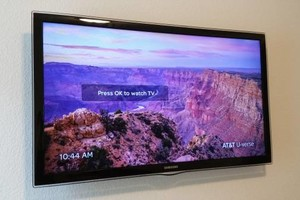 Photo #1: HomeTech AV Installation - TV mounting, Surround Sound, Wire Running