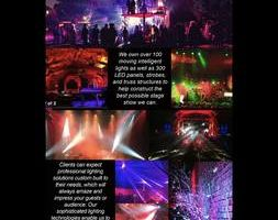 Photo #1: Alternative Lighting Solutions -Event Lighting Uplight, Wedding, Concert, Birthday, And Fashion Show