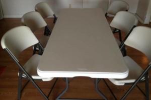 Photo #1: Kim n Matt Rentals, Lifetime Adult Folding Chairs & Tables
