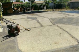 Photo #1: For ALL your ASPHALT related needs. Mr Stiper, Inc
