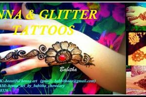 Photo #1: Henna tatto, beautiful henna body art