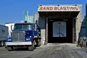 Photo #1: Sandblasting! FREE ESTIMATES! SAND BLASTING!