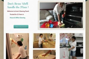Photo #1: Irma's Cleaning Touch /Houses and offices