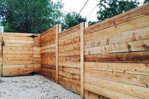 Photo #1: Twin fences & patios