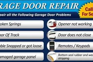 Photo #1: Garage Door Repair. Best price and quality guaranteed