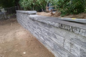 Photo #1: Retaining walls and accent walls
