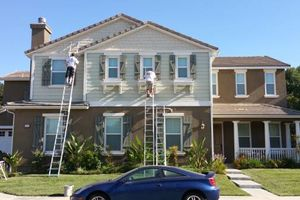 Photo #1: PAINTING - DRYWALL & STUCCO REPAIRS - PRO QUALITY WORK 19YRS EXP
