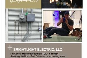 Photo #1: Attn: Small Biz Owners- Master Electrician***100% Quality Work***...