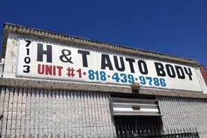 Photo #1: H and T auto body