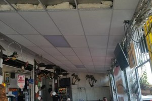 Photo #1: Acoustic ceiling tile installer