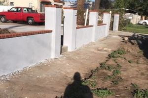 Photo #1: Masonry and finish concrete