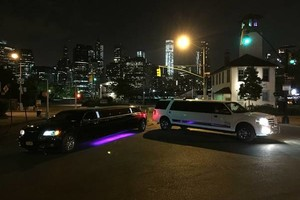 Photo #1: White Pink Yellow Red & silver limos. Limo service to Atlantic city Philadelphia