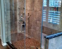 Photo #1: Diamond Dimensions - Supplier & Installer of Frameless Shower Doors