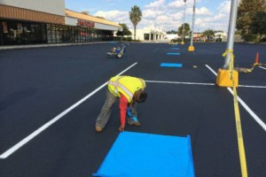Photo #1: Asphalt Maintenance! Sealcoating, crackfilling, patching...