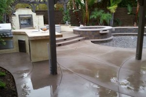Photo #1: Pool Construction, Concrete, Masonry