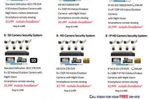 Photo #1: Camera Security System & Installation - CCTV Service
