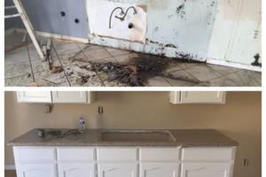 Photo #1: AG CONSTRUCTION - hardwood floors, tile, concrete, plumbing