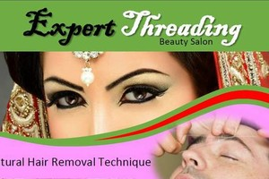 Photo #1: Free Eyebrow Threading and Henna Tattoo