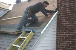 Photo #1: COLLINS BUILDERS. ROOF REPLACE, CHIMNEY FLASHING, CAPPING, FLAT ROOF...