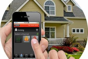 Photo #1: Free Smart Home Alarm, No Install Fee, Receive 1 Free Month