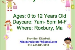 Photo #1: Mini Miracles Daycare
