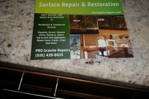 Photo #1: PRO Granite - Surface Repair & Restoration